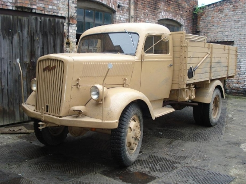 opel blitz – the workhorse of the wehrmacht.